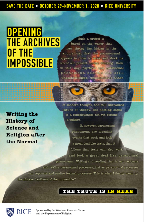 jeffrey j. kripal the archives of the impossible